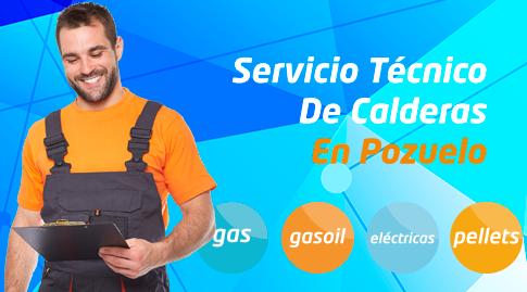 Servicio tecnico de calderas en Pozuelo de Alarcón