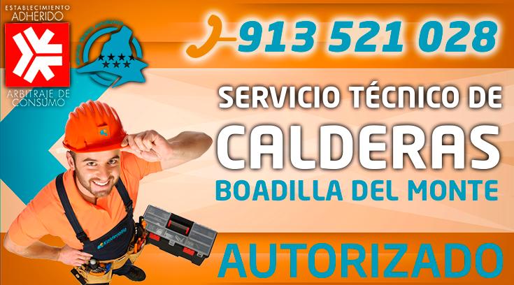 servicio tecnico de calderas en Boadilla del Monte