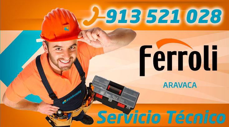 Servicio Tecnico Ferroli Aravaca