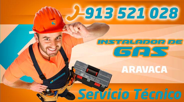 Instalador de gas autorizado Aravaca
