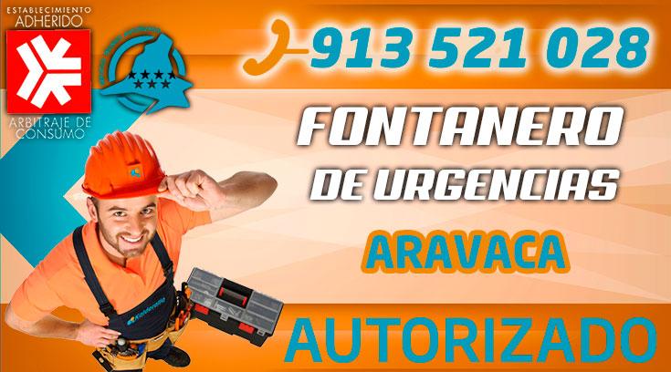 Fontanero Urgencias Aravaca