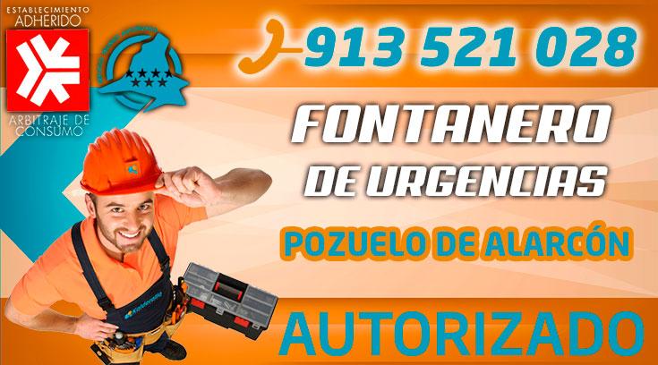 Fontanero Urgencias Pozuelo de Alarcon