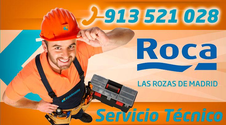 Servicio Técnico Calderas Roca en Las Rozas de Madrid