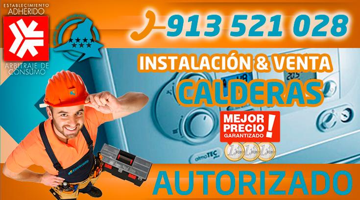 instalación y venta de calderas en Pozuelo de Alarcón
