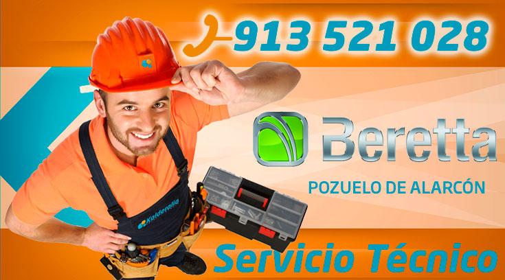 Servicio técnico Calderas Beretta Pozuelo de Alarcón