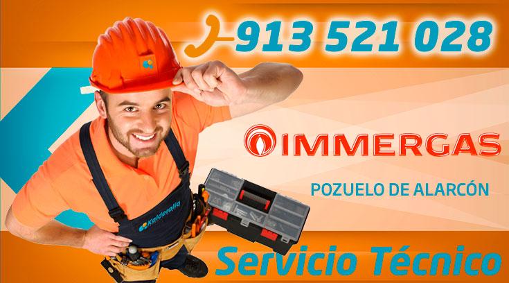 Servicio técnico Calderas Immergas en Pozuelo de Alarcón