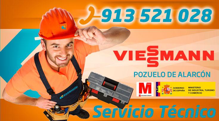 Servicio Técnico Calderas Viessmann en Pozuelo de Alarcón