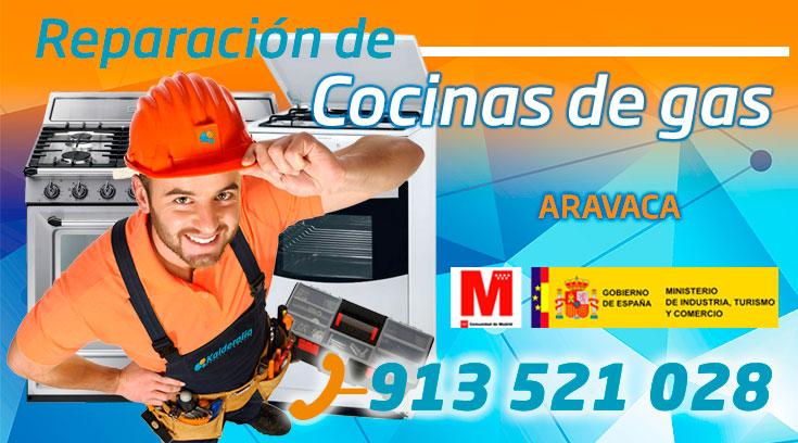 Reparación de cocinas de gas en Aravaca