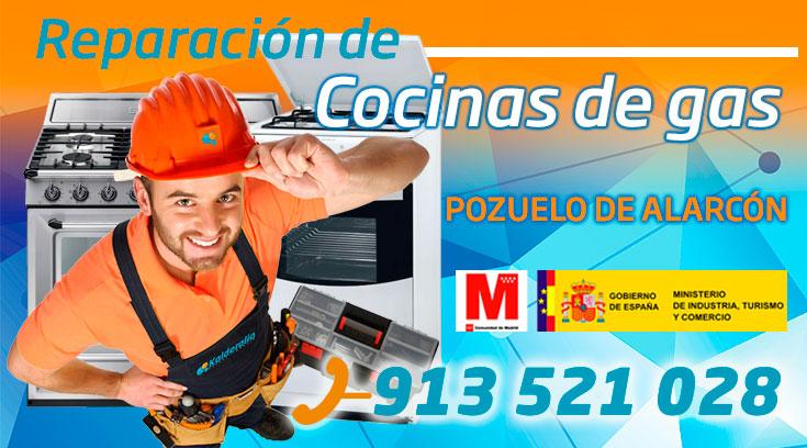 Reparación de cocinas de gas en Pozuelo de Alarcón