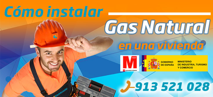 Como instalar gas natural en una vivienda