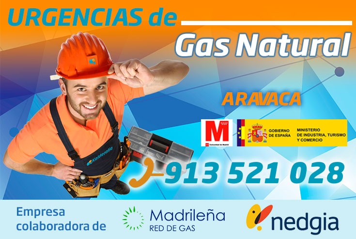 Urgencias de Gas Natural en Aravaca