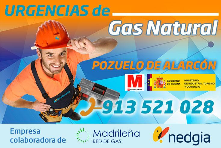 Urgencias de Gas Natural en Pozuelo de Alarcón