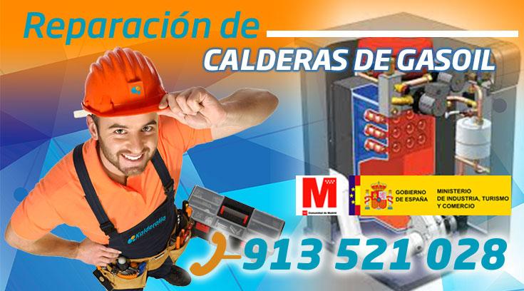 Reparación de calderas de gasoil en Aravaca
