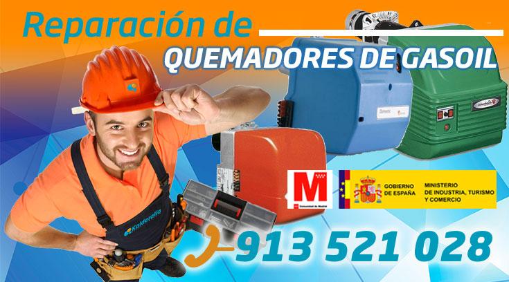 Reparación de Quemadores de gasoil en Aravaca